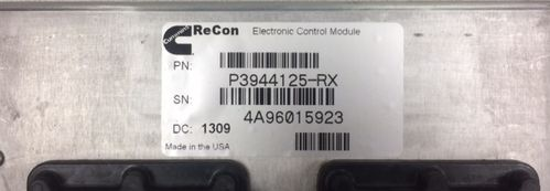 ECM module ReCon 24V Cummins QSL series