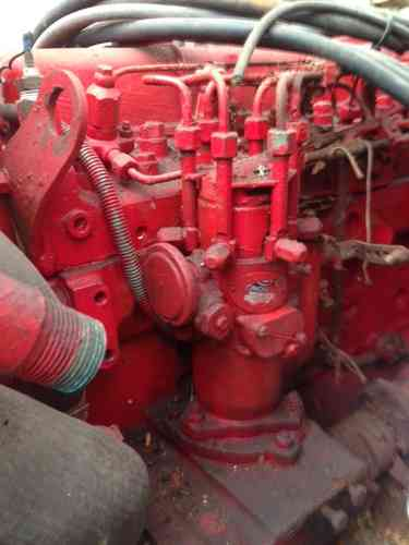 Engine used Perkins 6 cylinder