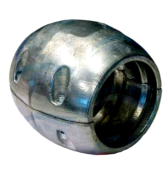 zinc anode collar 38mm shaft