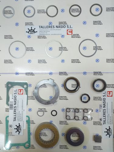 10M ZF disc and gearbox set